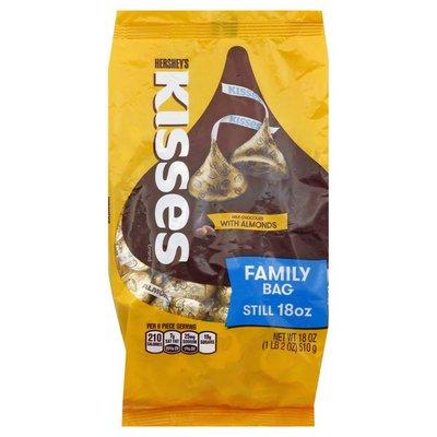 Hershey HERSHEY'S KISSES Milk Chocolates with Almonds