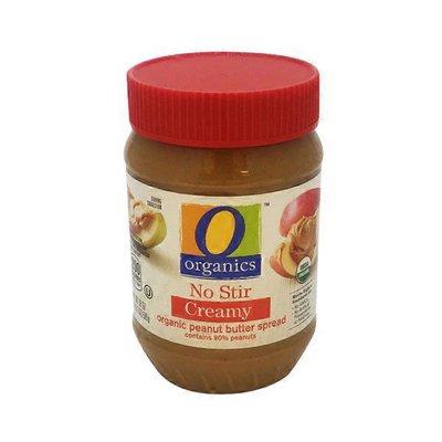 O Organics Creamy No Stir organic peanut butter spread