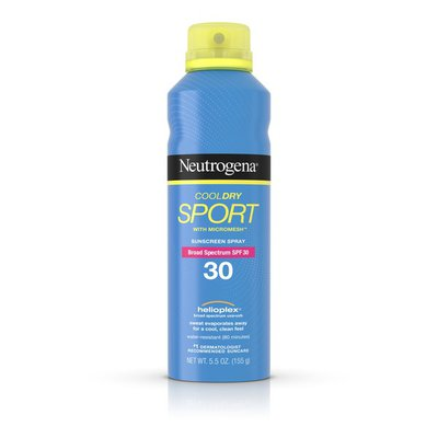 Neutrogena® Cooldry Sport Spray Broad Spectrum SPF 30