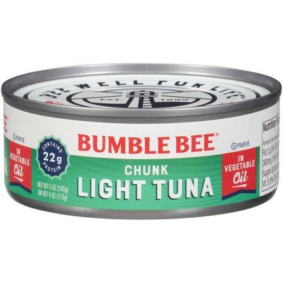 Bumble Bee Chunk Light Tuna in Vegetable Oil