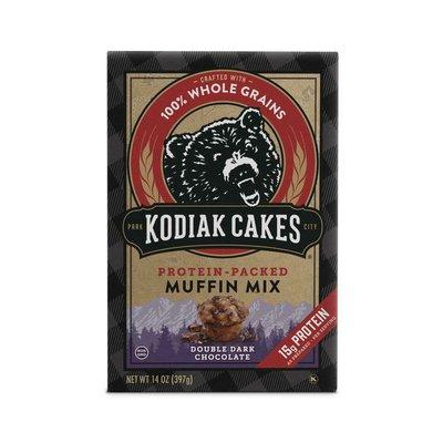 Kodiak Cakes Double Dark Chocolate Protein Muffin Mix