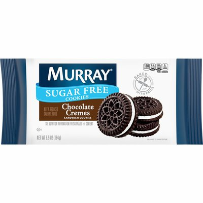 Murray Sugar Free Sandwich Cookies Chocolate Creme
