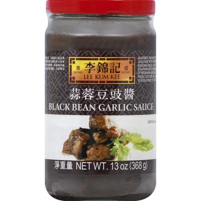 Lee Kum Kee Garlic Sauce, Black Bean