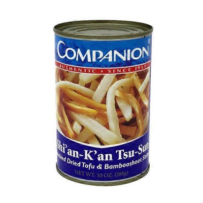 Companion Dried Tofu & Bamboo Shoot Strips (Shian Kan Tsu Sun)