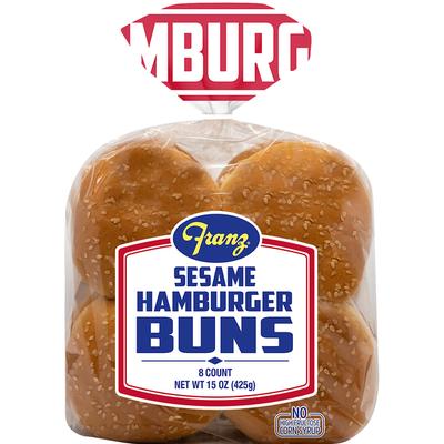 Franz Hamburger Buns, Sesame
