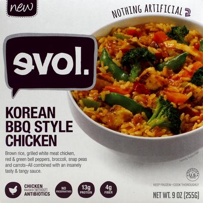 Evol Korean BBQ Style Chicken