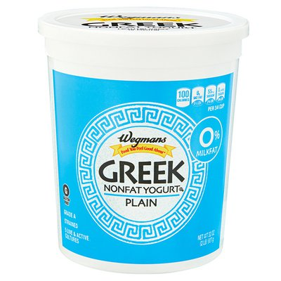 Wegmans Food You Feel Good About Greek Yogurt, Plain, FAMILY PACK
