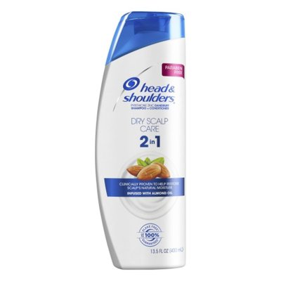 Head & Shoulders Dry Scalp Care with Almond Oil 2-in-1 Anti-Dandruff Paraben