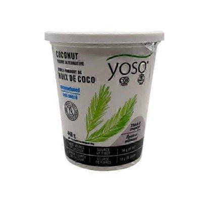 Yoso Coconut Unsweetened Yogurt