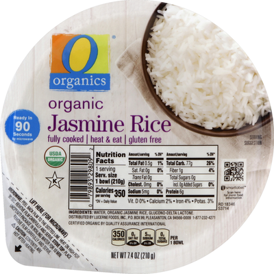 O Organics Jasmine Rice, Organic