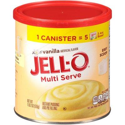 Jell-O Multi Serve Vanilla Instant Pudding & Pie Filling Mix