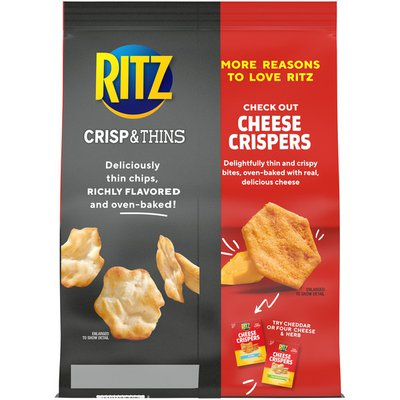 Ritz Crisp & Thins Sea Salt Oven-Baked Chips