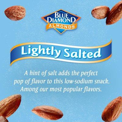 Blue Diamond Almonds, Lightly Salted - Low Sodium