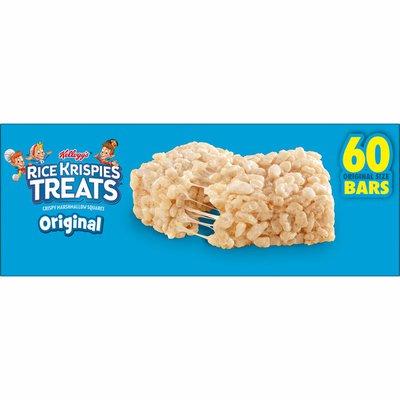 Kellogg's Rice Krispies Treats Marshmallow Snack Bars, Kids Snacks, Original