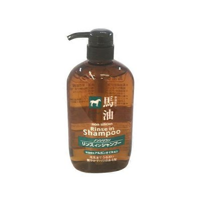 Kumano 2 in1 Horse Oil Shampoo