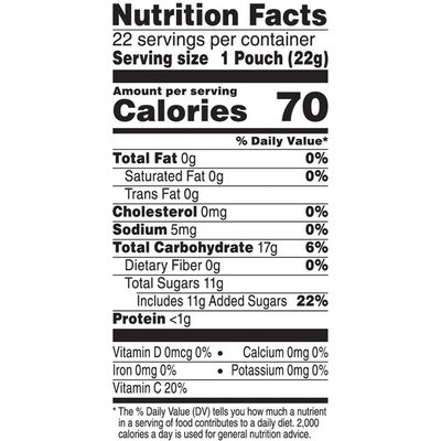 Kellogg's Fruity Snacks Mixed Berry