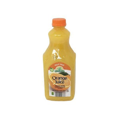 Nature's Nectar Not From Concentrate No Pulp Premium Orange Juice