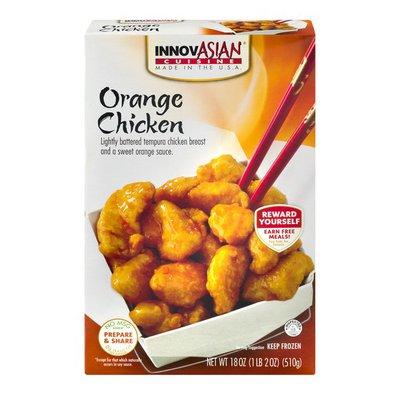 InnovAsian Cuisine Orange Chicken