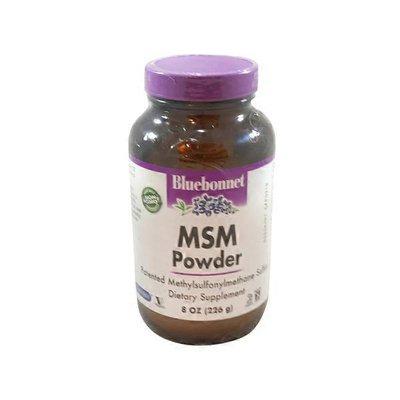 Bluebonnet Nutrition MSM Powder Potented Methylsulfonylmethane Sulfur