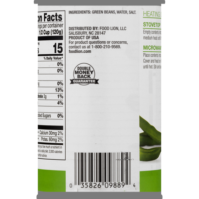 Food Lion Cut Green Beans