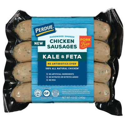 Perdue NAE Spinach and Feta Chicken Sausage