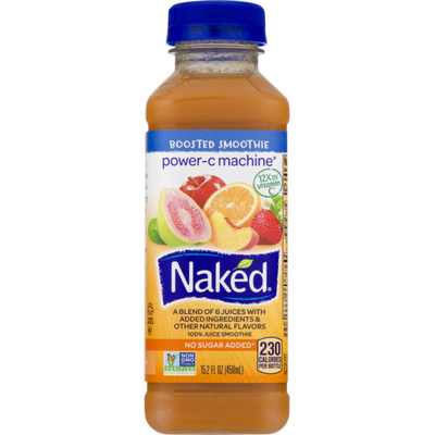 Naked Boosted Power-C Machine Juice Smoothie