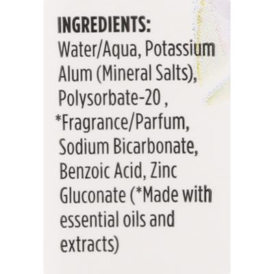 Crystal Lavender & White Tea Mineral Deodorant