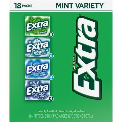Extra Mint Gum Variety Box