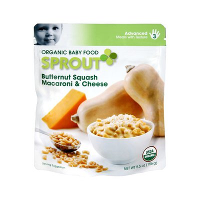 Sprout Advanced Butternut Squash Macaroni & Cheese Organic Baby Food