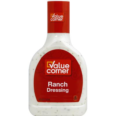 Value Corner Dressing, Ranch