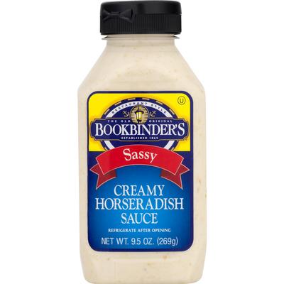 Bookbinder S Horseradish Sauce Creamy Sassy Restaurant Style 9 5 Oz Instacart
