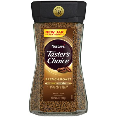 Nescafe Taster's Choice Medium Dark French Roast Instant Coffee