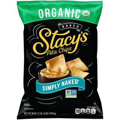 Stacys Pita Chips, Organic, Baked