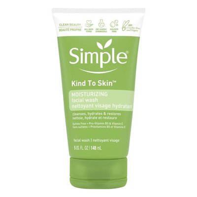 Simply Face Wash Moisturizing