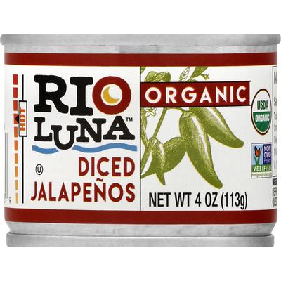 Rio Luna Jalapenos Diced
