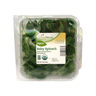 Simply Nature Organic Baby Spinach