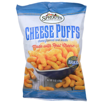 Sprouts Cheese Puffs