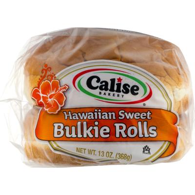 Calise Bakery Hawaiian Sweet Bulkie Rolls - 6 CT