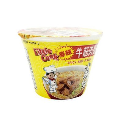 Little Cook Spicy Beef Instant Bowl Noodle