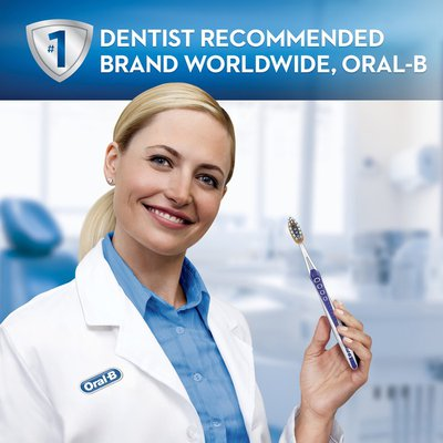 Oral-B Pro-Flex Expert Clean Manual Toothbrush, Medium