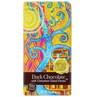 Wegmans Food You Feel Good About Dark Chocolate with Cinnamon Glazed Pecans
