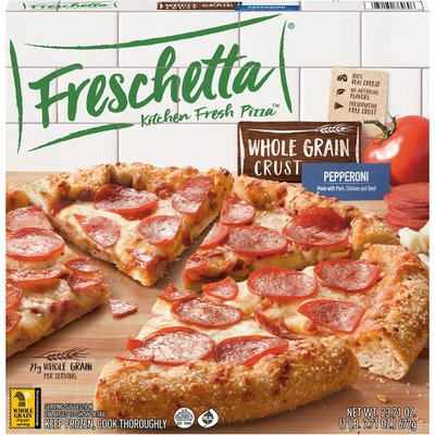 FRESCHETTA Whole Grain Crust Pepperoni Pizza