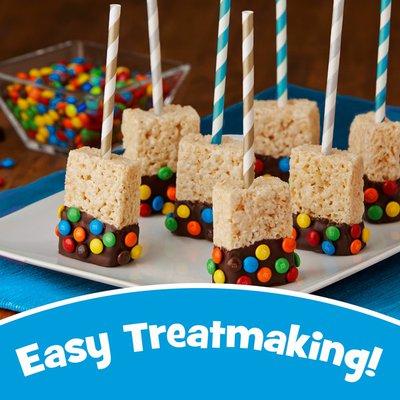 Kellogg's Rice Krispies Treats Large Marshmallow Snack Bars, Kids Snacks, School Lunch, Original