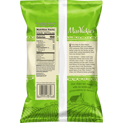 Miss Vickie's Jalapeño Flavored Kettle Cooked Potato Chips