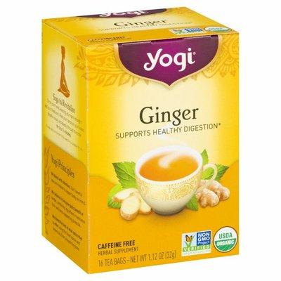 Yogi Tea Herbal Tea, Ginger Tea, Supports Healthy Digestion