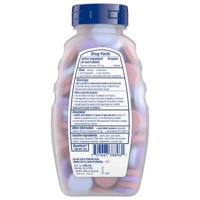 Tums Chewable Antacid Tablets