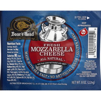 Boar's Head Cheese Fresh Mozzarella