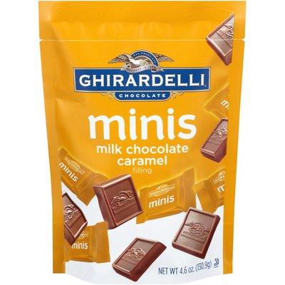 Ghirardelli Chocolate Minis Caramel Filling Milk Chocolate