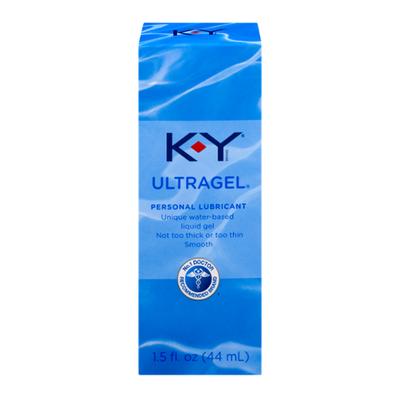 K-y® UltraGel Personal Water Based Lubricant, Premium Water Based Lube For Men, Women & Couples