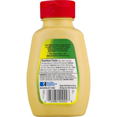 Nance's Mustard, Sharp & Creamy